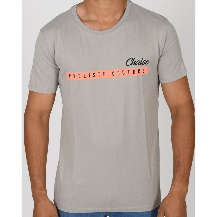 T-shirts - Grigio - Chaise Cycliste Couture