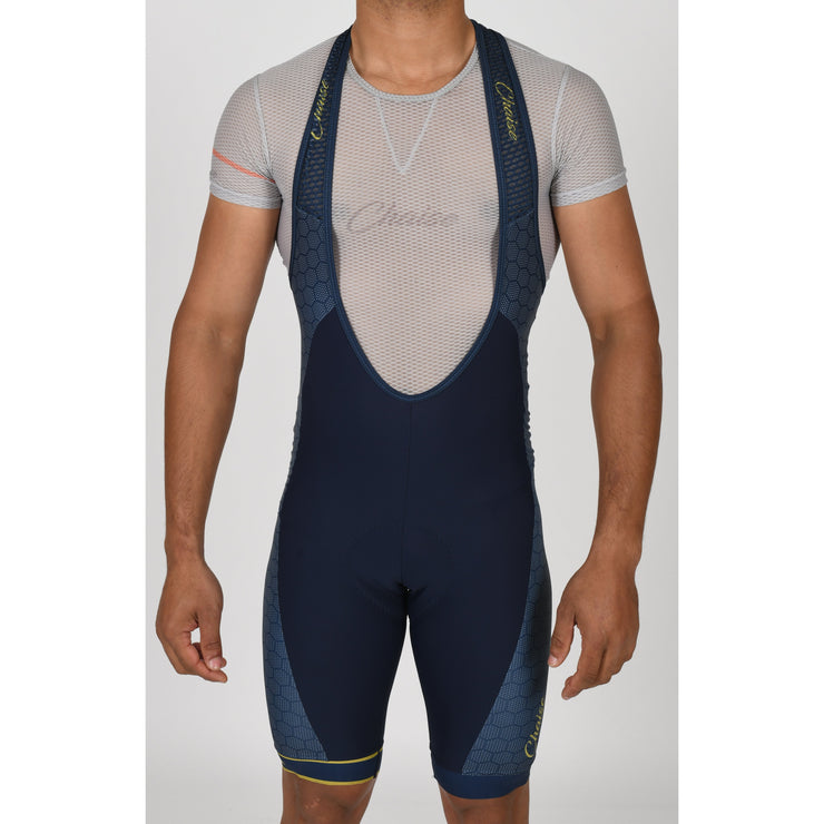 HEX'd Bibshorts Navy - Chaise Cycliste Couture