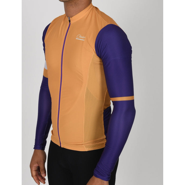 Long Sleeve Jersey - Mimosa - Chaise Cycliste Couture