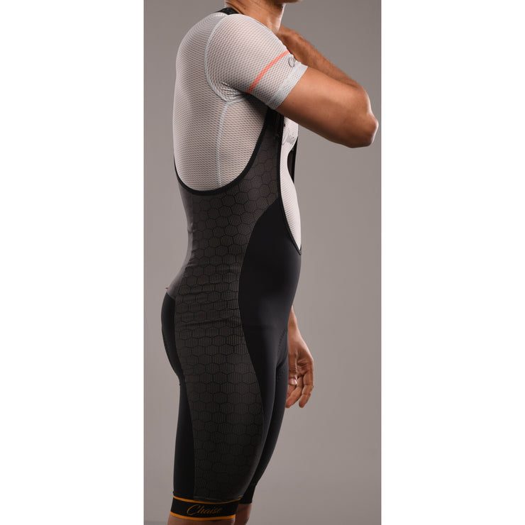 HEX'd Bibshorts Black - Chaise Cycliste Couture