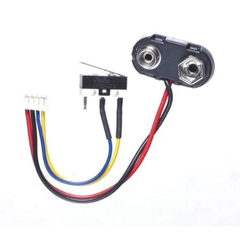 Dye Battery Wire Harness & Trigger Switch - PMR / Rail / PM5 / PM6 / DM4