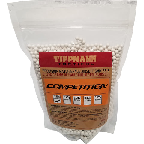 Tippmann Competition Precision Match Grade 6mm Airsoft BB's White