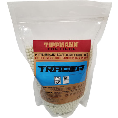 Tippmann Tracer Precision Match Grade 6mm Airsoft BB's Light Green