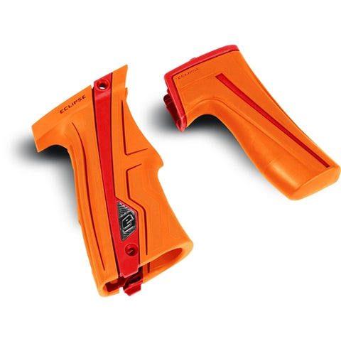 Planet Eclipse CS1 Grip Kit Orange/Red