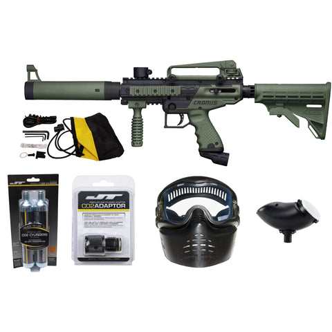 Ready To Play Package - Tippmann Cronus Tactical Olive / Black