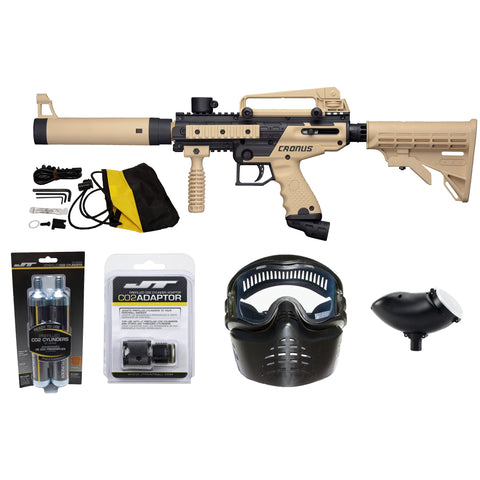 Ready To Play Package - Tippmann Cronus Tactical Tan / Black