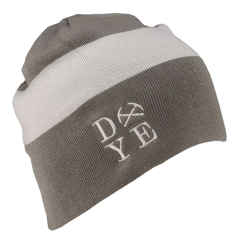 Dye Beanie 3am Rust/White
