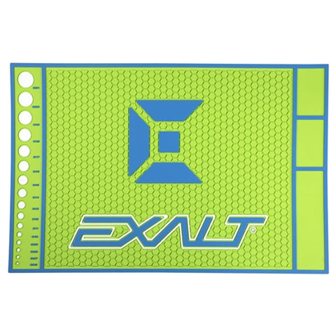 Exalt Tech Mat HD Lime Blue