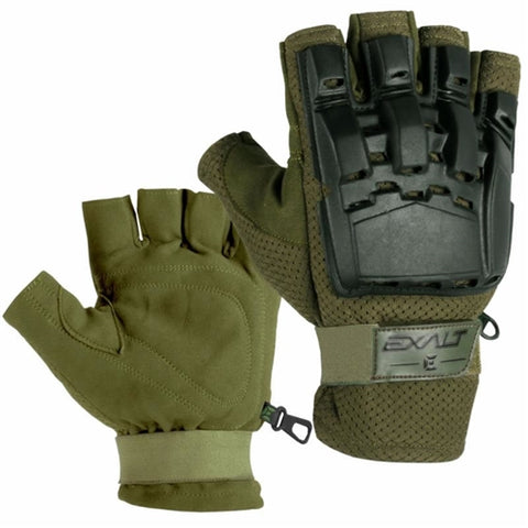Exalt Hard Shell Gloves - Olive