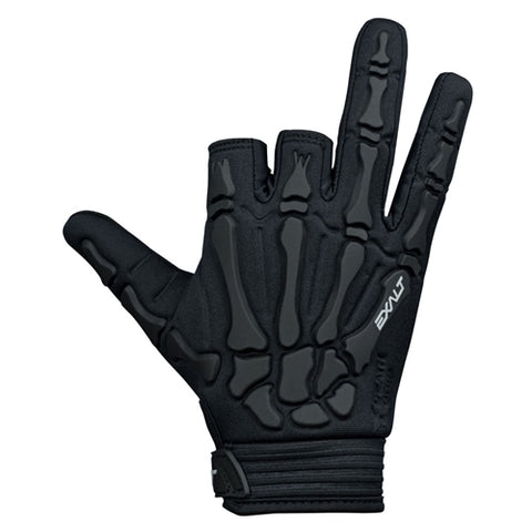 Exalt Death Grip Gloves Black / Black