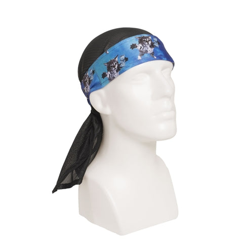 HK Army Headwrap Cat Cobain