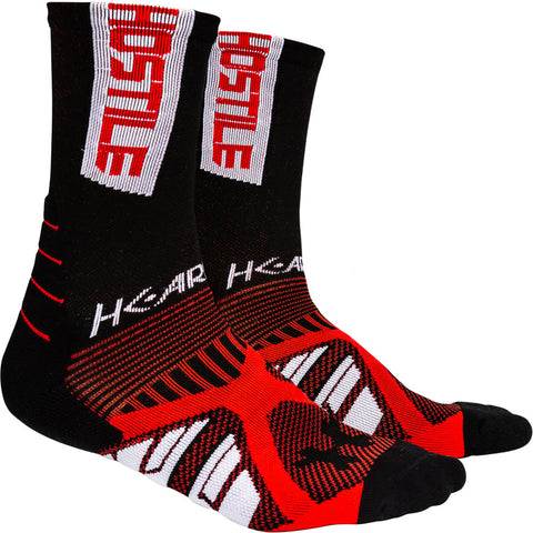 HK Army Athletex Performance Sock - Red / Black