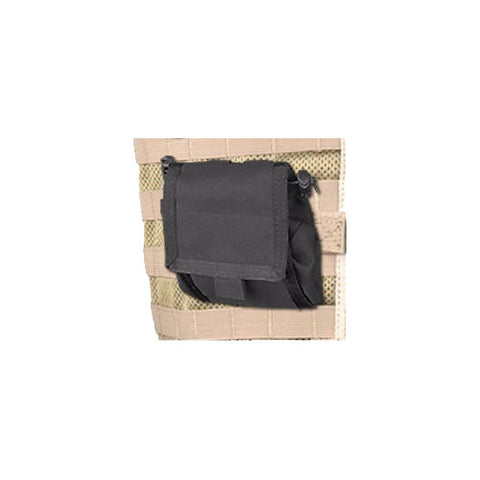 MCS Molle Fold Out Dump Pouch Black
