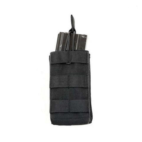 MCS Molle Single M4 \ M16 Magazine Pouch - Black