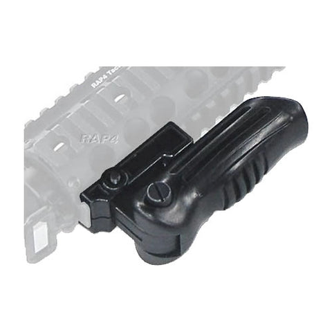 MCS Vertical RIS Folding Grip Black