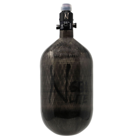 Ninja 68ci 4500psi Hpa Bottle Translucent Black