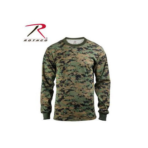 Rothco Long Sleeve Digital Camo Shirt