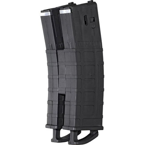 Tippmann TMC Magazine 2-Pack W/ Coupler Black