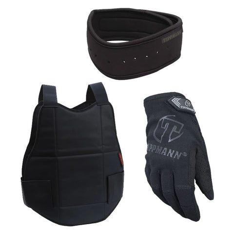 Tippmann Chest + Neck Protector + Tippmann Sniper Gloves