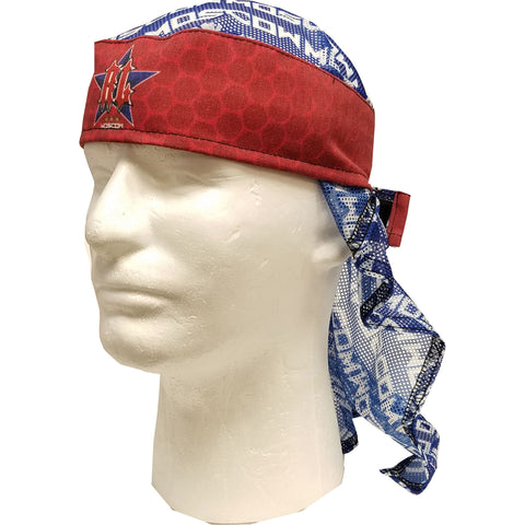 Dye Head Wrap Russian Legion Red / Blue / White
