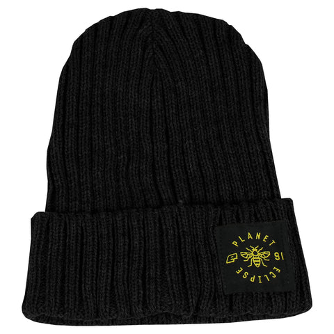 Planet Eclipse Worker Beanie Black