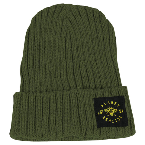 Planet Eclipse Worker Beanie Moss Green