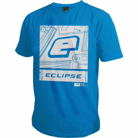 Planet Eclipse Pro-Formance T-Shirt - Icon Blue