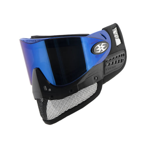 Empire E-Mesh Airsoft Goggle System Blue - Thermal Mirror Blue Lens
