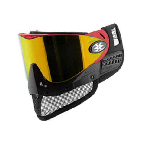 Empire E-Mesh Airsoft Goggle System Red - Thermal Mirror Fire Lens