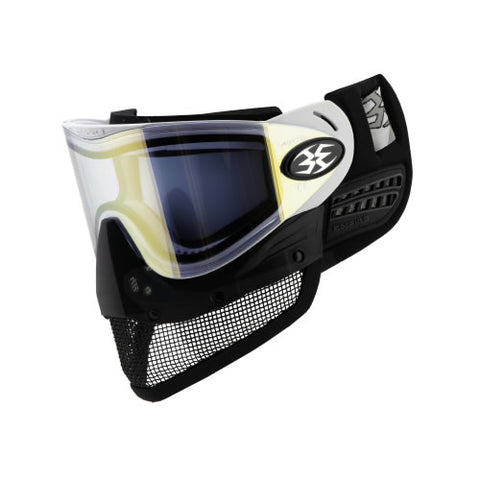Empire E-Mesh Airsoft Goggle System White - Thermal Mirror Gold Lens