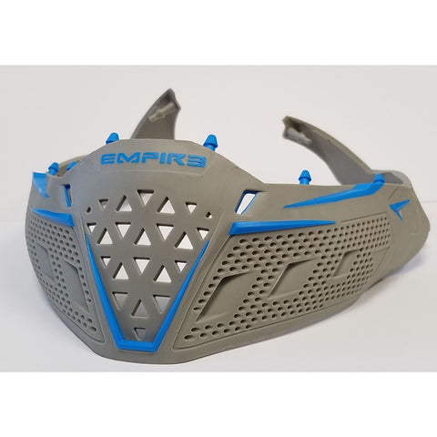 Empire EVS Goggle Skirt - Grey / Cyan