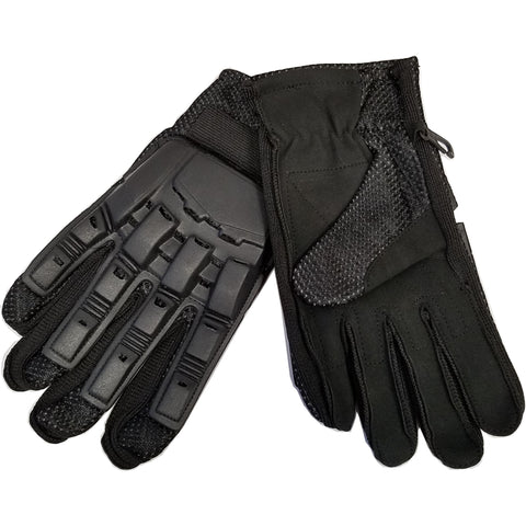 Tippmann Airsoft Assault Gloves Full Finger Black