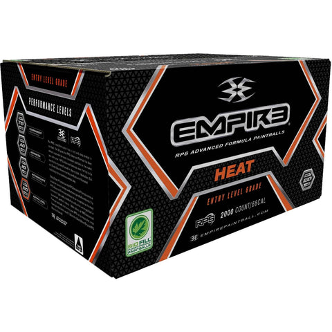 Empire Heat Paintballs 500 Rounds