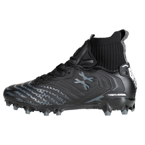 HK Army LT Diggerz X1 - Low Top Cleats - Black / Grey