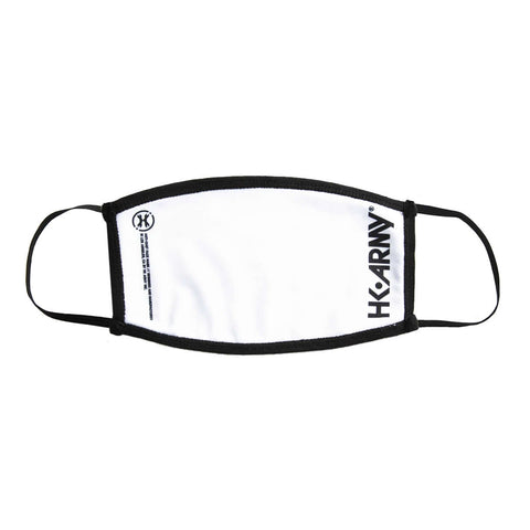 HK Army Face Mask Essentials White/Black