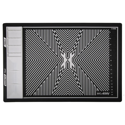 HK Army MagMat - Magnetic Tech Mat - Black / White