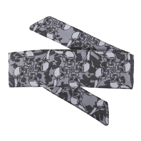 HK Army Hostilewear Headband Skull Gray
