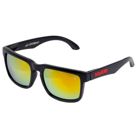 HK Army Vizion Sunglasses Stealth Black / Red