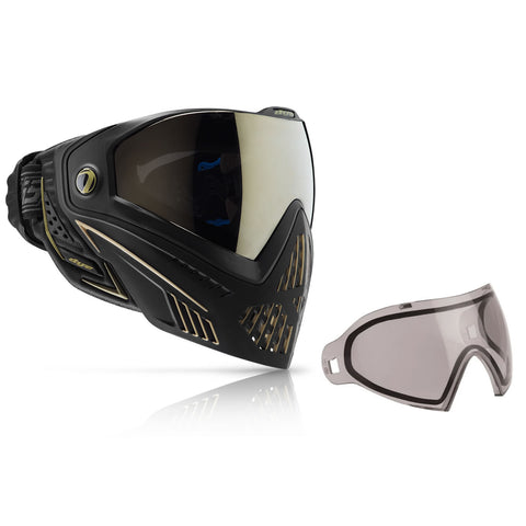 Mask / Lens Combo - Dye I5 2.0 Onyx/Gold W/Additional Thermal Lens