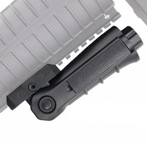 MCS Vertical RIS Folding Grip Type II Black