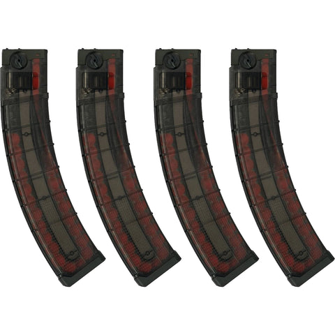 First Strike T15 30 Round Magazine Smoke - 4-Pack