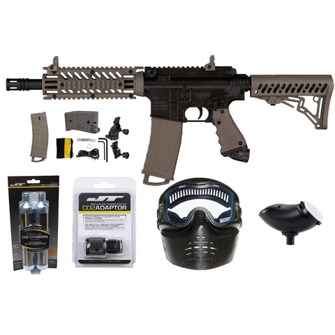 Ready To Play Package - Tippmann TMC Tan / Black