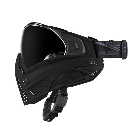 Push Unite Mask Black / Black W/ Smoke Lens