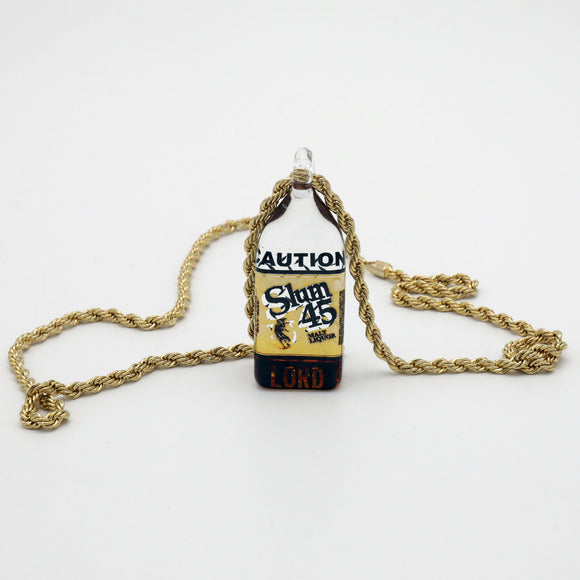 40oz Slumgold and Lord Collab Pendant