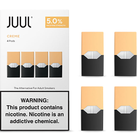 JUUL PODS - 5% Creme Brule Tobacco