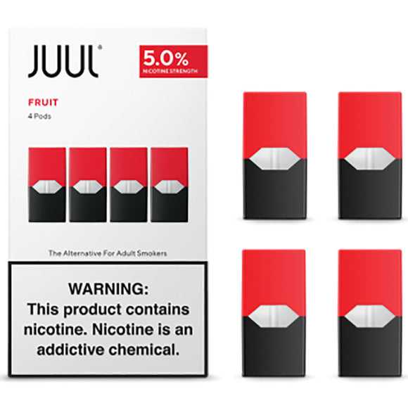 JUUL PODS - 5% Fruit Tobacco