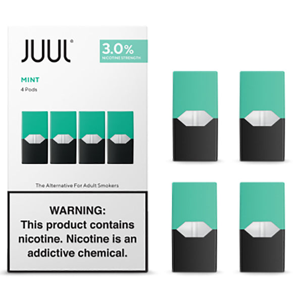 JUUL PODS - 3% Mint Tobacco