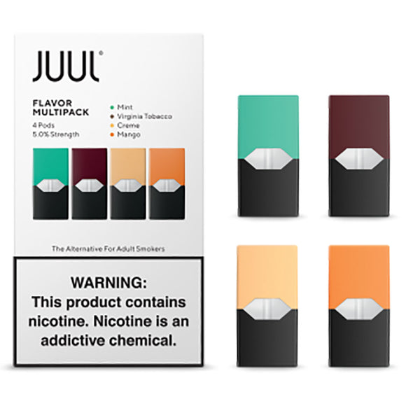 JUUL PODS - 5% Multipack