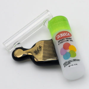 Spray Can Comb Pendant