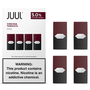 JUUL PODS - 5% Virginia Tobacco
